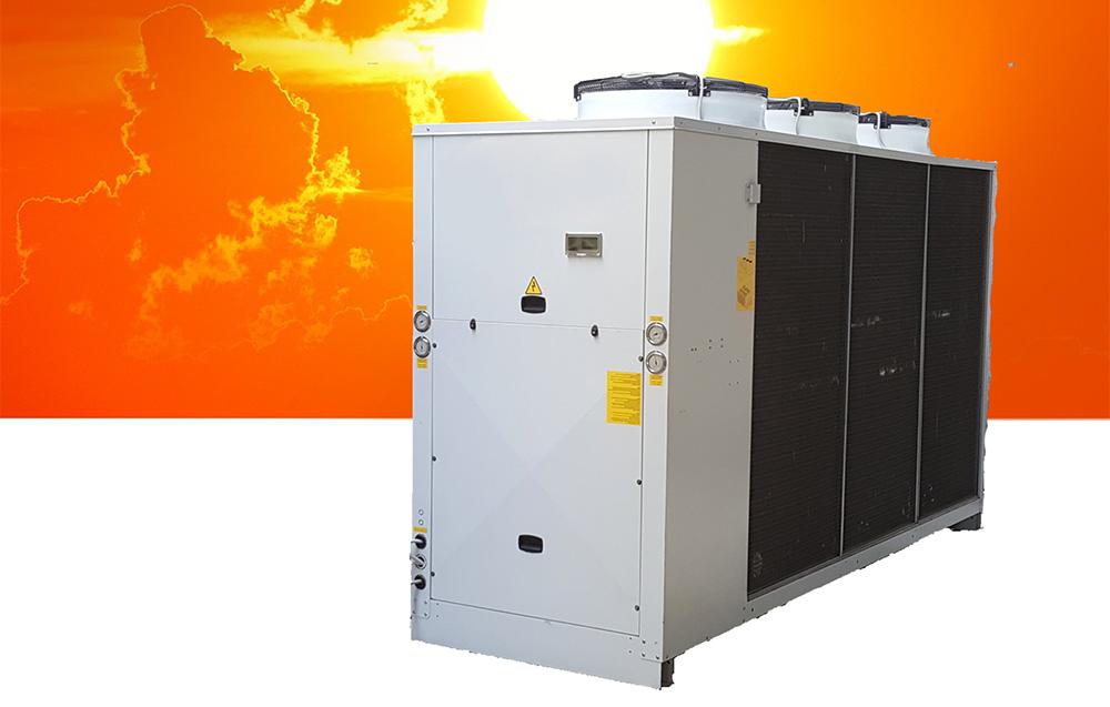 Pompe di calore a noleggio da 30 a 350 kw