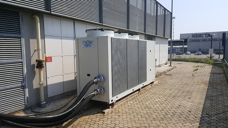 chiller rent - noleggio - chiller, assistenza